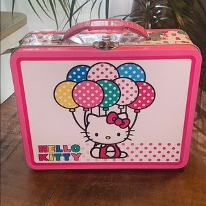 Hello Kitty Metal Lunch Box